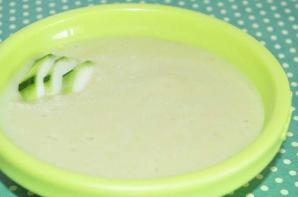 Purée de courgette, pomme de terre et fromage