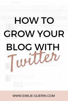 Twitter, grow your blog traffic, blog tips, social media, blogger tips, twitter tips