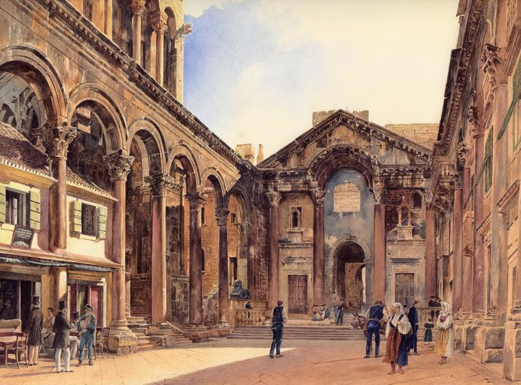 Rudolf von Alt, watercolours