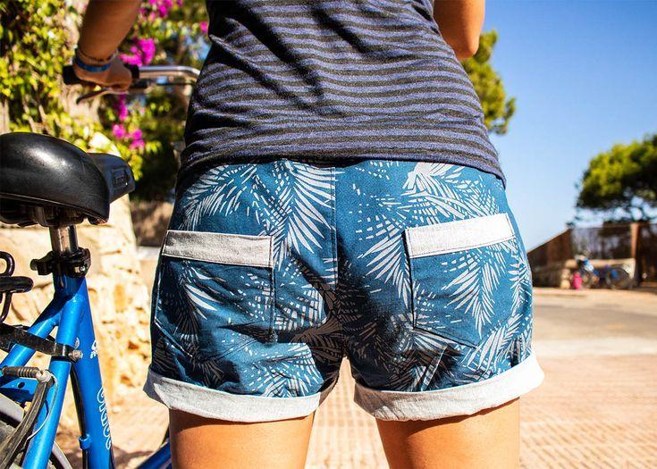 25 + › Nähen – Nähen Sommer Outfit – Shorts und Ananas Plot Freebook> Selbermachen, genähte Kleidung> DIY,