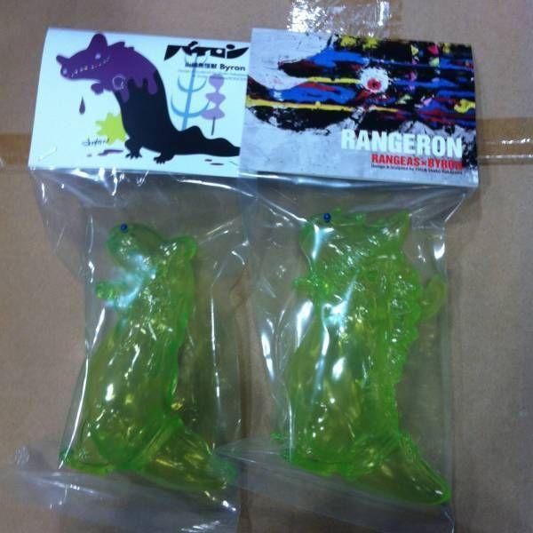 Wonder Festival 2016 Summr Shoko Nakazawa Rangeron Green Set Sofubi Limited F/S #Rangeron