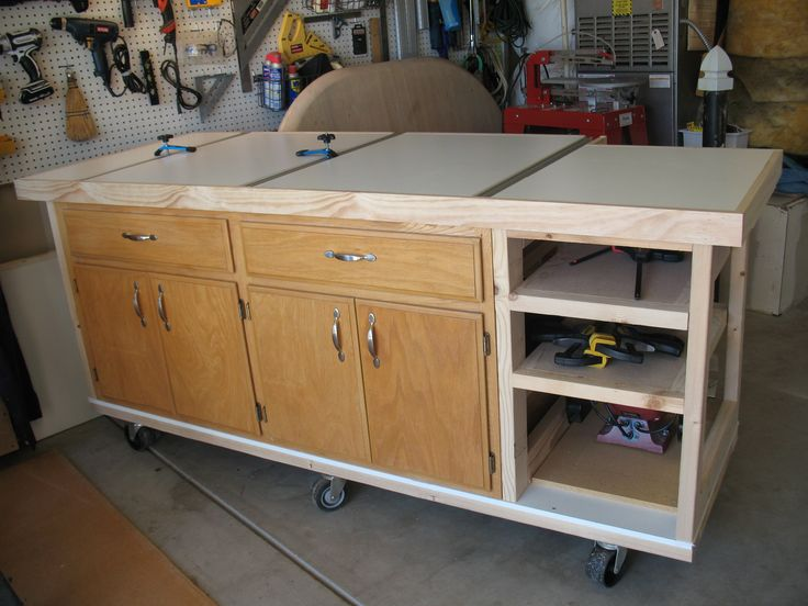 26 best tablesaw outfeed images on Pinterest | Woodworking ...