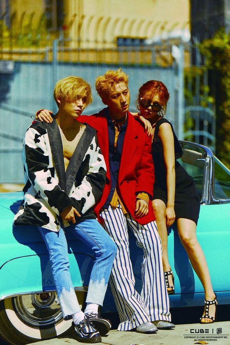 Triple H (Hyuna, Hui, Hyo Jong (E'Dawn))