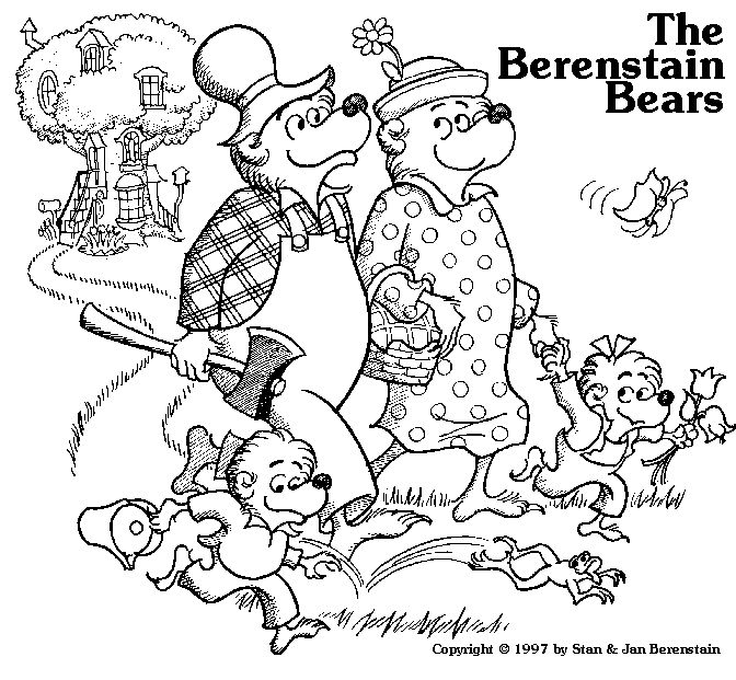 Family Coloring Pages Pinterest Colouring Pages Bear Coloring