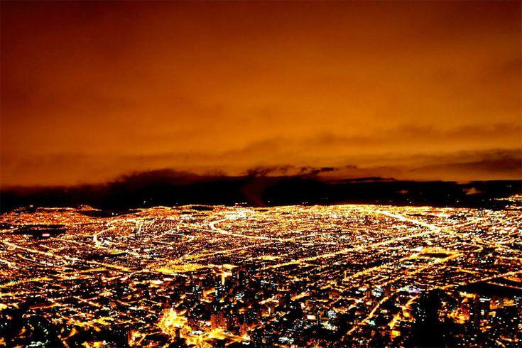 La Calera de noche - Blog de Ecología y caminatas