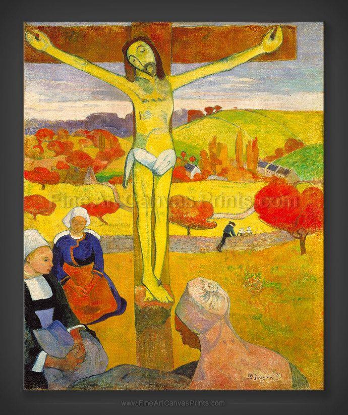 Paul Gauguin: The Yellow Christ 1889 | Art Smart | Pinterest