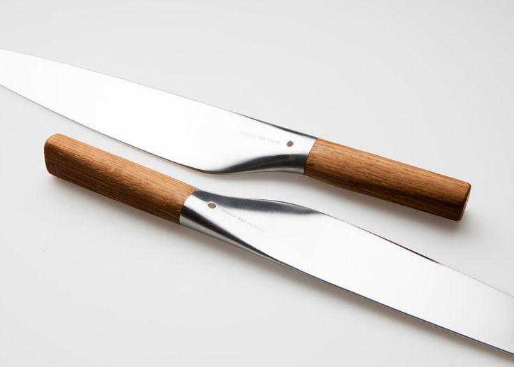 Per Finne designs Umami Santoku knife