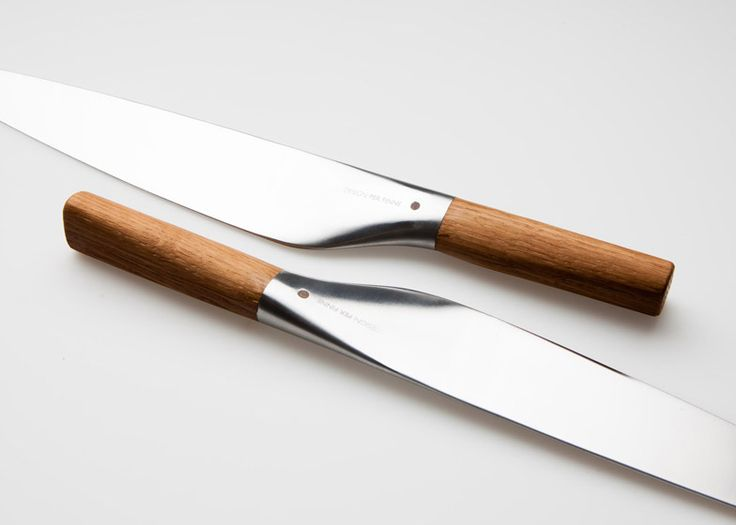 Per Finne's Umami Santoku knife combines Norwegian and Japanese design.