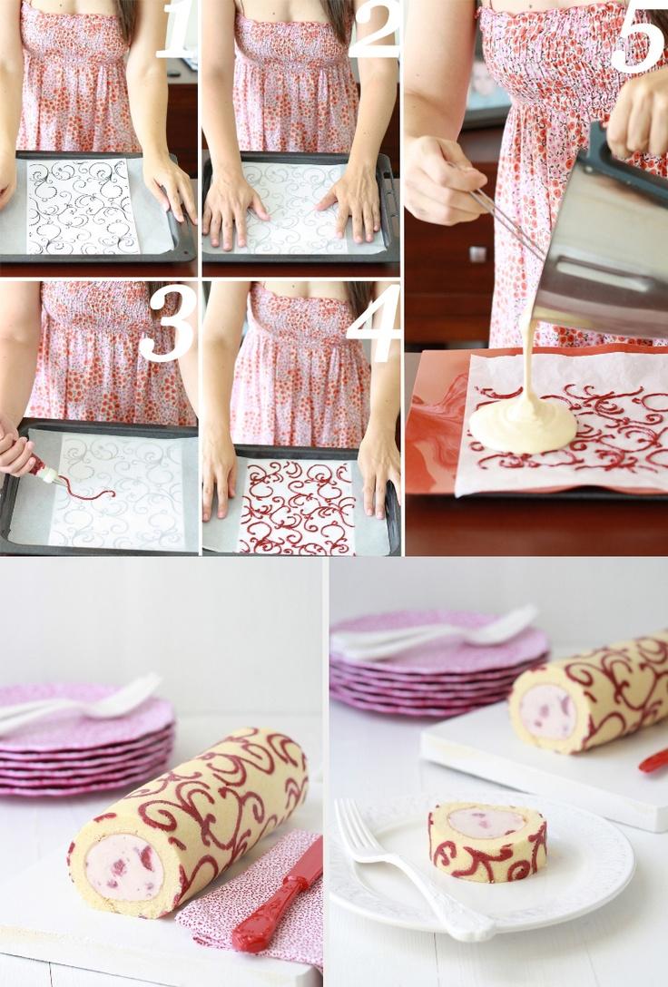 Decorar um bolo