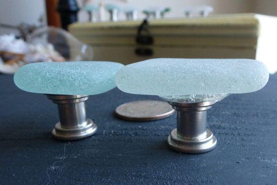 Sea Glass Cabinet Knobs Drawer Pulls Drawer Pulls