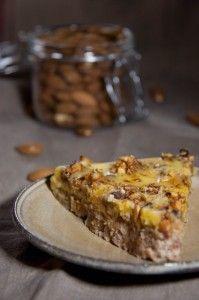 svéd mandulatorta, gluténmentes édesség recep. IKEA mandulatorta recept. Gluténmentes mandulatorta recept