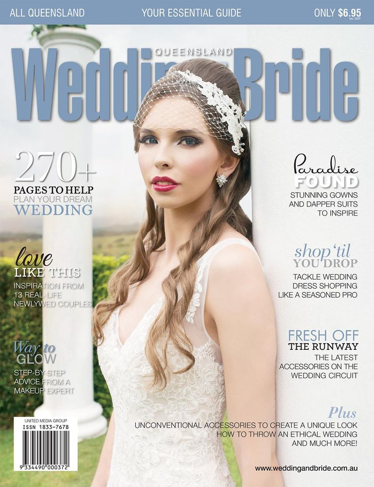 Queensland Wedding & Bride issue 12. Image courtesy of Tux & Veil Photography and hair and make-up by the lovely ladies at Velbella.