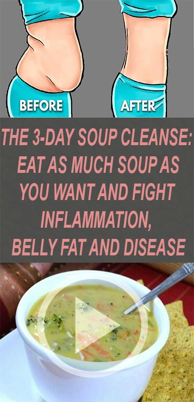 The 3-Day Soup Cleanse: Eat as Much as You Want and Fight