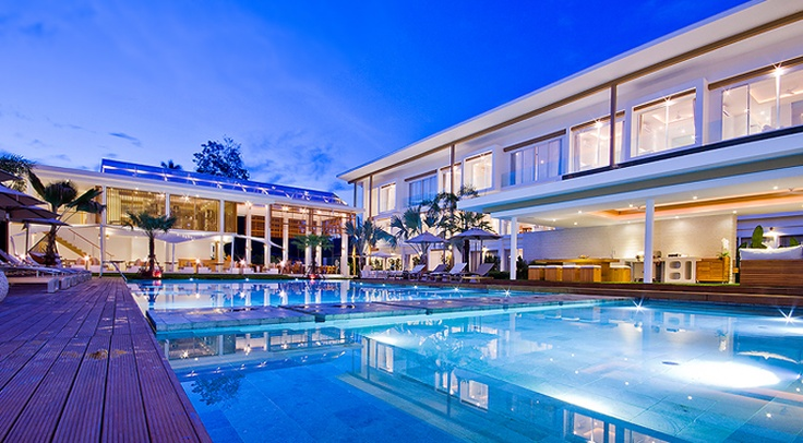 Lanna Samui The Beautiful Boutique Hotel in Southern thailand .