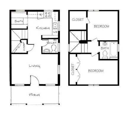 181 Best Images About Tiny House Blueprints Studio/Loft On Pinterest