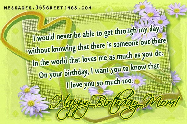 Birthday Wishes for Mom - Messages, Wordings and Gift Ideas