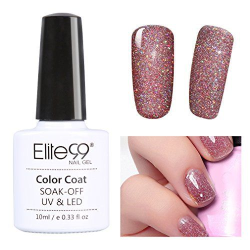 Elite99 Vernis Semi-Permanent Color Neon Nail Gel UV LED Soak Off Color Neon Nail Gel 10ml 3709: Tweet Les vernis semi permanents vous…