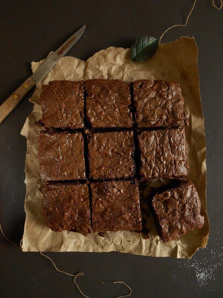 Los mejores brownies caseros...