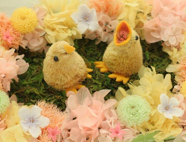 自分らしい色と、ひよこのリングピロー 箱根富士屋ホテル様へ : 一会 ウエディングの花