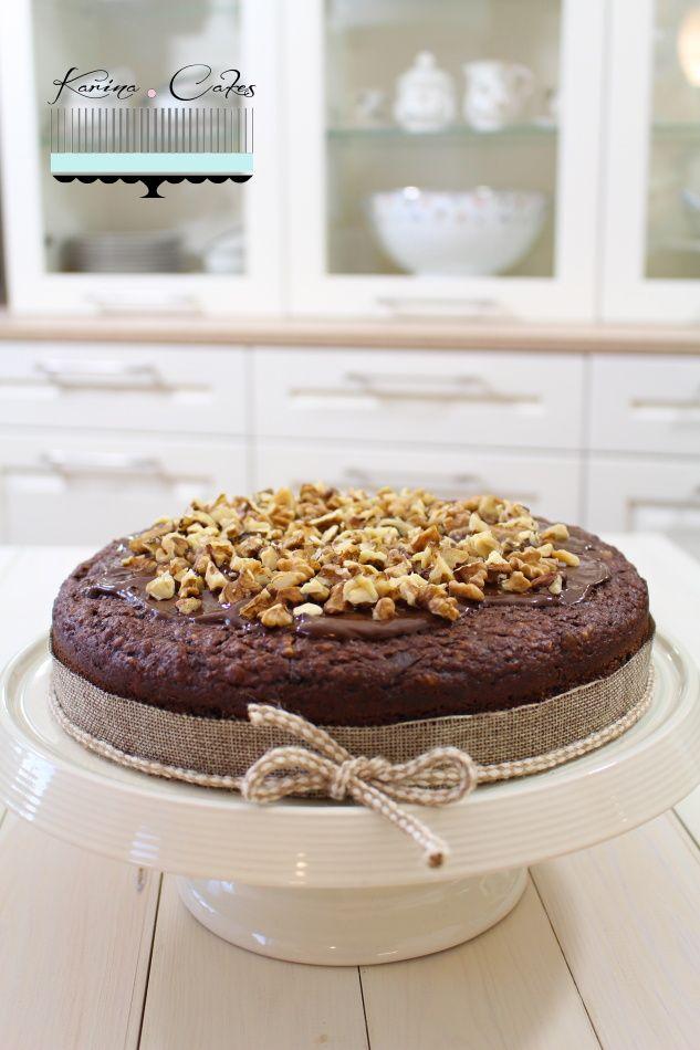 Koláč s ovsenými vločkami, banánmi a kúskami čokolády - Pie With Oat Flakes, Bananas And Chocolate
