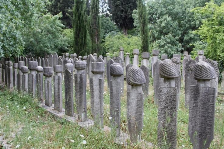Osmanlı mezartaşları  Ottoman cemetery