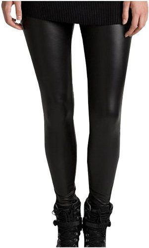 "ToBeInStyle Women's Metallic Clubwear Style Leggings - XXX-Large - Black. Feature: Slim fit. Put on these Sexy seductive shinny, sleek and streamlined liquid leggings. Low rise waist. Great elasticity fabric. You will be the next Superstar for your next outing and event. Do not bleach. (3X Big) Size. Polyester. Size Measurements: (Small: Unstretch 28"" inches, Fully Stretch 34"" inches, Inseam 25"" inches) .Medium: Unstretch 29"" inches, Fully Stretch 37. inches, Inseam 25.5. inches...."