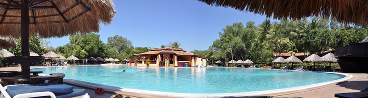 Main Pool at #Montelimar Barceló Beach Resort, surrounded by Sugar Cane Plantations in San Rafael del sur, #Managua (Pacific Ocean Coast). Aprox. 50 miles from Managua City, capital of #Nicaragua.