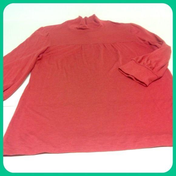 Lightweight mock turtleneck shirt Lightweight mock turtleneck by Banana Republic Banana Republic Tops