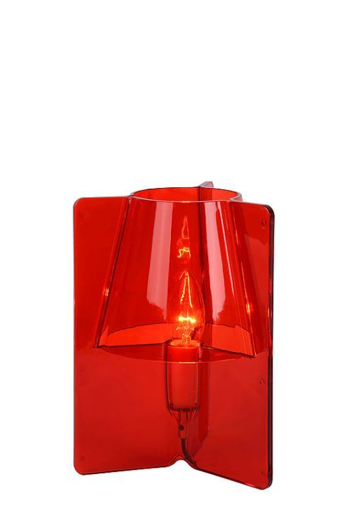 #Aanbieding: van €52,- naar €39.95 - Rode Dielke tafellamp Design - Lampgigant.nl