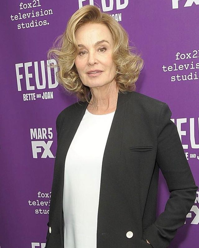 Jessica Lange at the 'Feud: Bette and Joan' Tastemaker Lunch yesterday.  #jessicalange #susansarandon #feud #feudbetteandjoan #joancrawford #bettedavis #acting #actor #actress #acting #inspiration #idol #icon #emmy #bestactress #fx #legend #rolemodel #entertainmentweekly #ew #magazine #rolemodel #emmy2017 #emmywinner #mother #daughter #grandmother #bestactress
