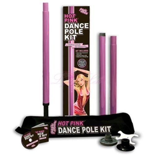 Hot Pink Dance Pole Kit fra Lyst-lek. Om denne nettbutikken: http://nettbutikknytt.no/lyst-lek/