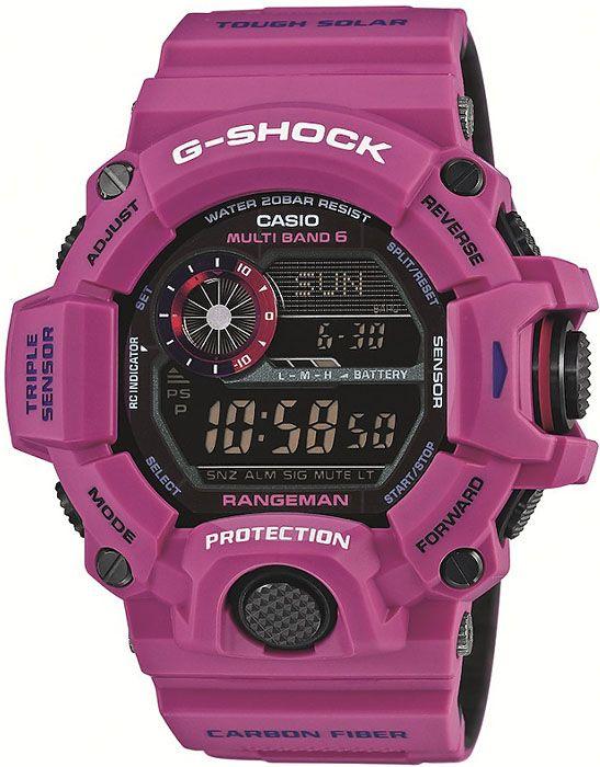 Zegarek męski Casio G-Shock Pink Rangeman GW-9400SRJ-4ER - sklep internetowy www.zegarek.net