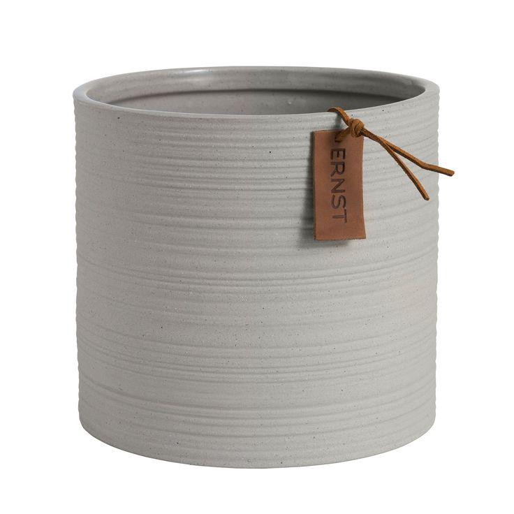 Kruka Ø18,5cm H17cm, Ljusgrå 288 kr. - RoyalDesign.se