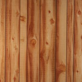 1 8 In X 4 Ft X 8 Ft Cedar Wall Panel This Pic Is Darker