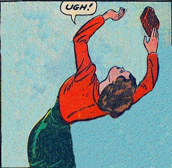 """lifesahoot:  Out of context comic book theater presents """"UGH!"""""""