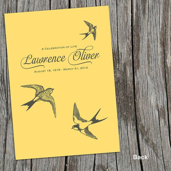 10 best Funeral Stationery images on Pinterest Funeral - funeral invitation cards