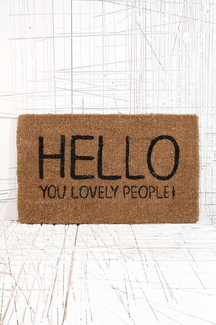 Lovely People Door Mat