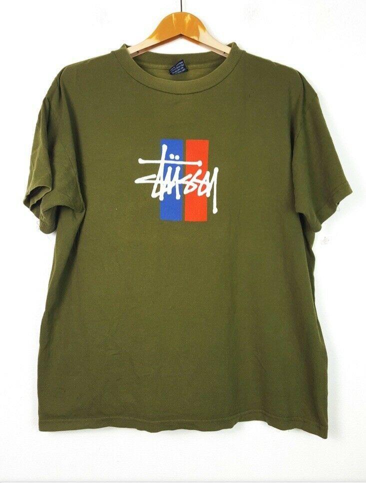 20459833 Men's Stussy T Shirt Size Large #fashion #clothing #shoes #accessories  #mensclothing #shirts (ebay link)