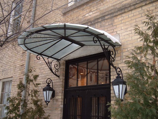 61 best French Glass Awnings images on Pinterest Wrought iron