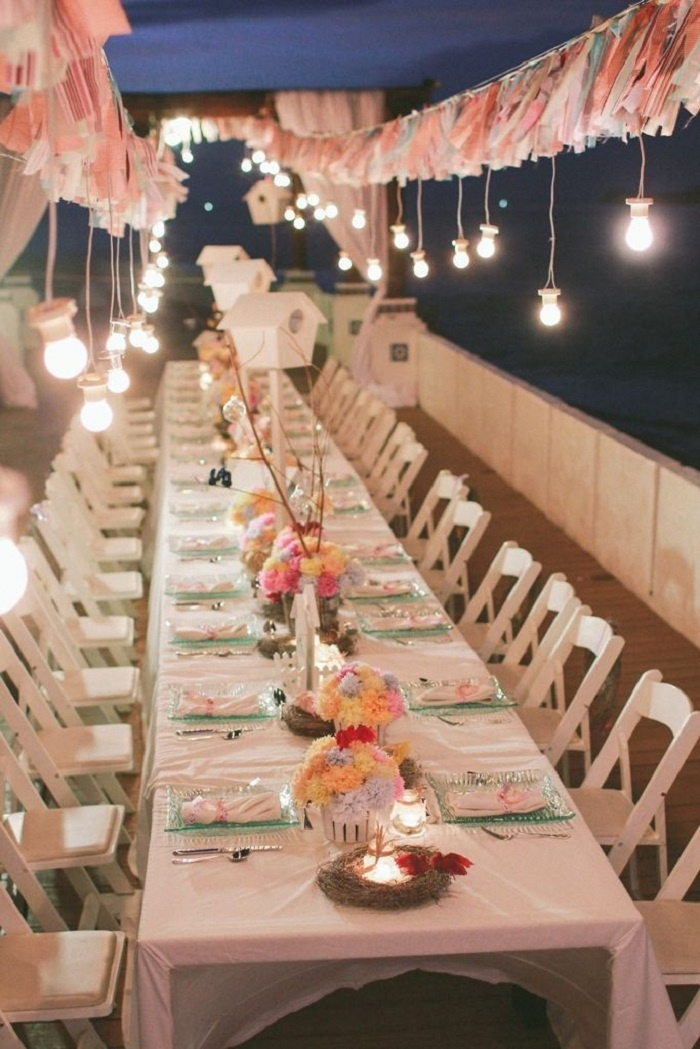 31 best love bird theme wedding images on pinterest love birds diy wedding lights a crafty love bird themed wedding on marinduque island junglespirit Gallery