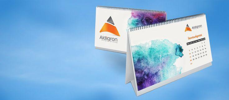 Εκτυπώσεις ημερολόγίων 2017 Τα εταιρικά ημερολόγια είναι το ιδανικότερο δώρο προς τους πελάτες μια επιχείρησης, κυρίως για την περίοδο των γιορτών, και μια μόνιμη διαφήμιση για ολόκληρο (...) - info@aldigron.gr