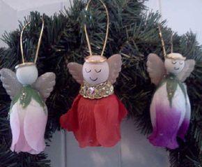 Homemade Angel Christmas Ornaments   Christmas Ornaments - Courtesy of BetterBudgeting.com