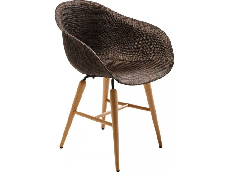 Krzesło Forum Wood III brązowe — Krzesła — KARE® Design  #KARE #KAREDesign  #furniture  #design  #homedecor #KARE24