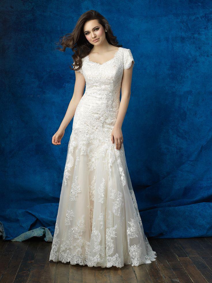 128 besten Modest Gowns Bilder auf Pinterest
