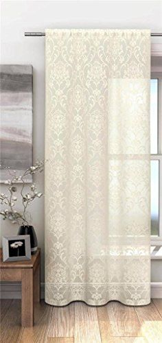Cream Sheer Voile Curtain Net Panel With Floral Damask Pa... https://www.amazon.co.uk/dp/B00M4CIOAU/ref=cm_sw_r_pi_dp_50KixbAGQ1XG6