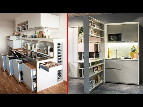 Fantastic Space Saving Kitchen Ideas And Kitchen Designs Smart Kitchen 3 Youtube In 2020 Space Saving Kitchen Smart Kitchen Kitchen Design