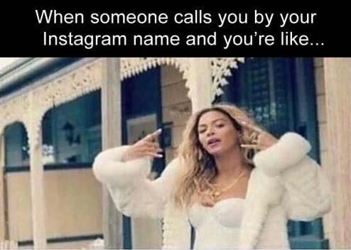 When someone calls you by your Instagram name you're like...: more funny pictures @ http://www.fartinvite.com/