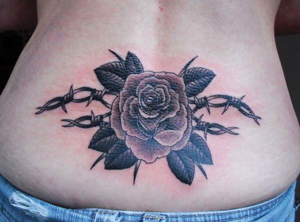 Barbed Wire Rose Tattoo: 1000+ Images About Tattoo Redo On Pinterest
