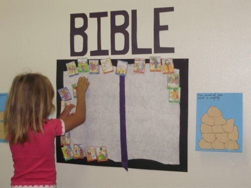 Books of the Bible Activity. Large bible book shape [or bookshelf shape], and a piece for each book of the bible. Can you put them in order?