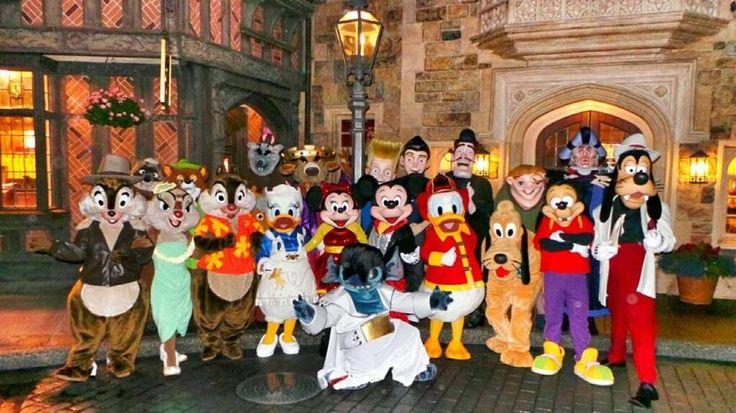 Rare Disney Characters Rare Characters At Dlrp Disney